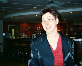 photo of Ann Young in a bar