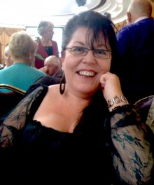 Photo of Rosaleen McDonagh smiling at the camera