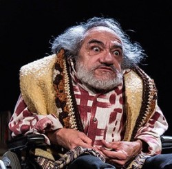 Interview: Nabil Shaban on Brecht, acting and cripping-up...