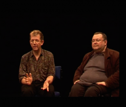 Colin Hambrook and Dr Paul A. Darke in Discussion about Disability Art