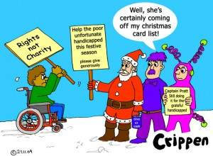 Crippen's favourite christmas card cartoon