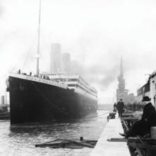 photo of the titanic