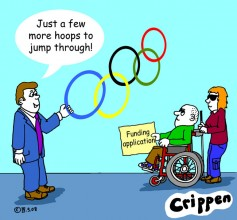 Crippen Hoops cartoon - 3rd December 07