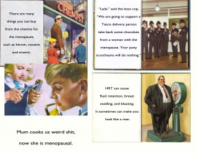Ladybird Book of the Menopause part two