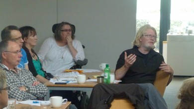 Art House Board, Staff and Advisory Group debating during Away Day