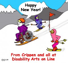 Crippen Happy New Year cartoon – Christmas Holiday 2007