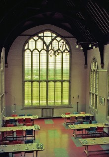 The dining hall at St Georges, Chailey Heritage.