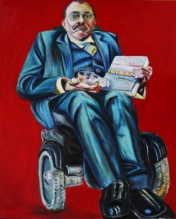 Sir Bert Massie: oil painting portrait by Tanya Raabe
