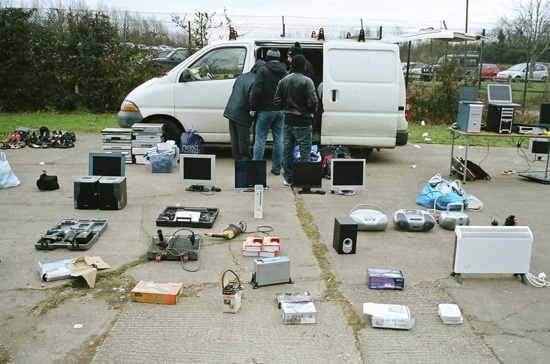 photo of a car boot sale by Frazer Waller