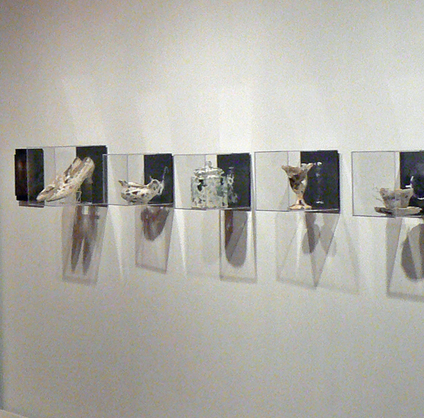 image of artists' work on show at revealing culture exhibition
