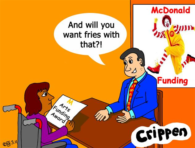 Crippen looks at corporate funding