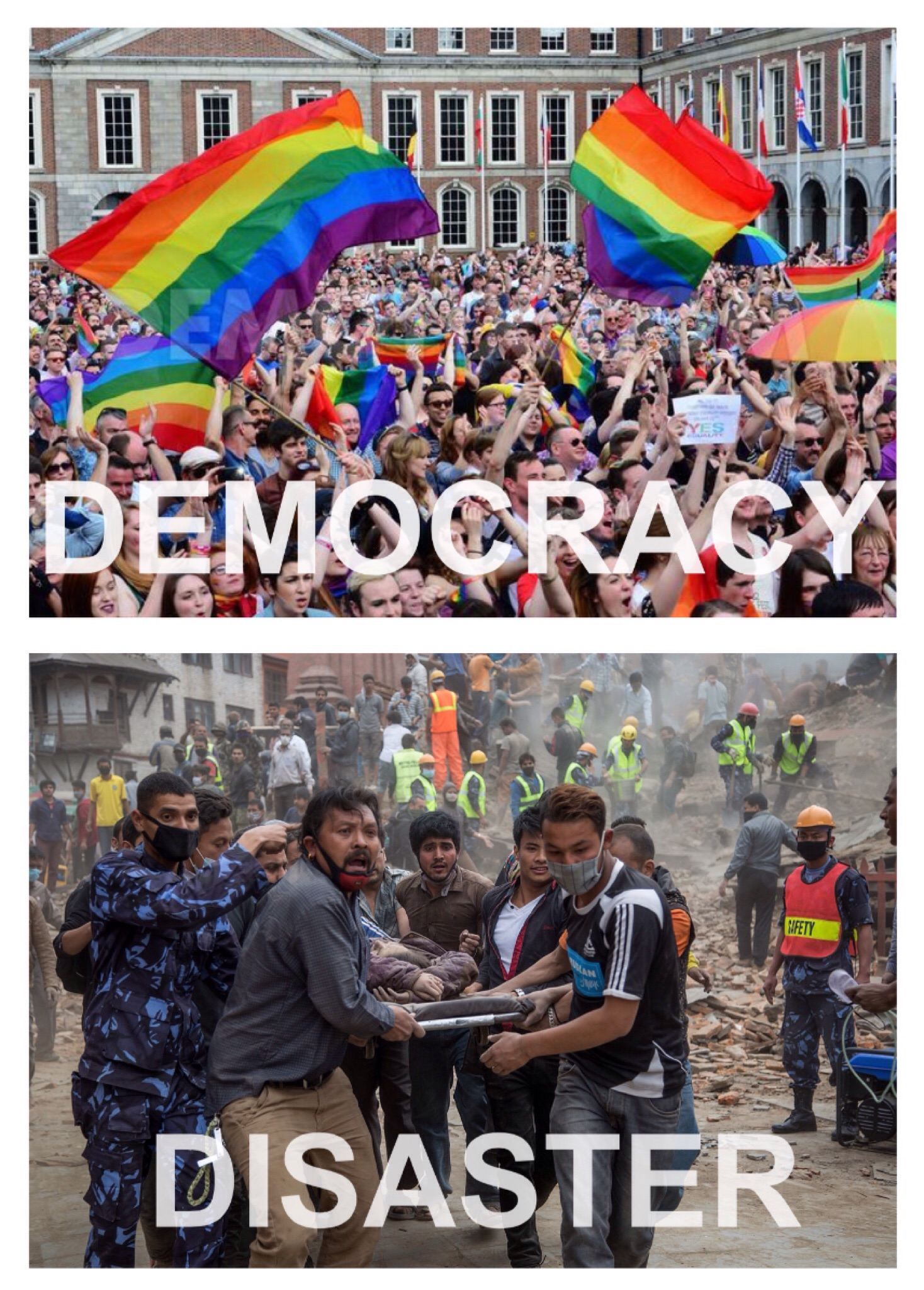 Disaster/Democracy