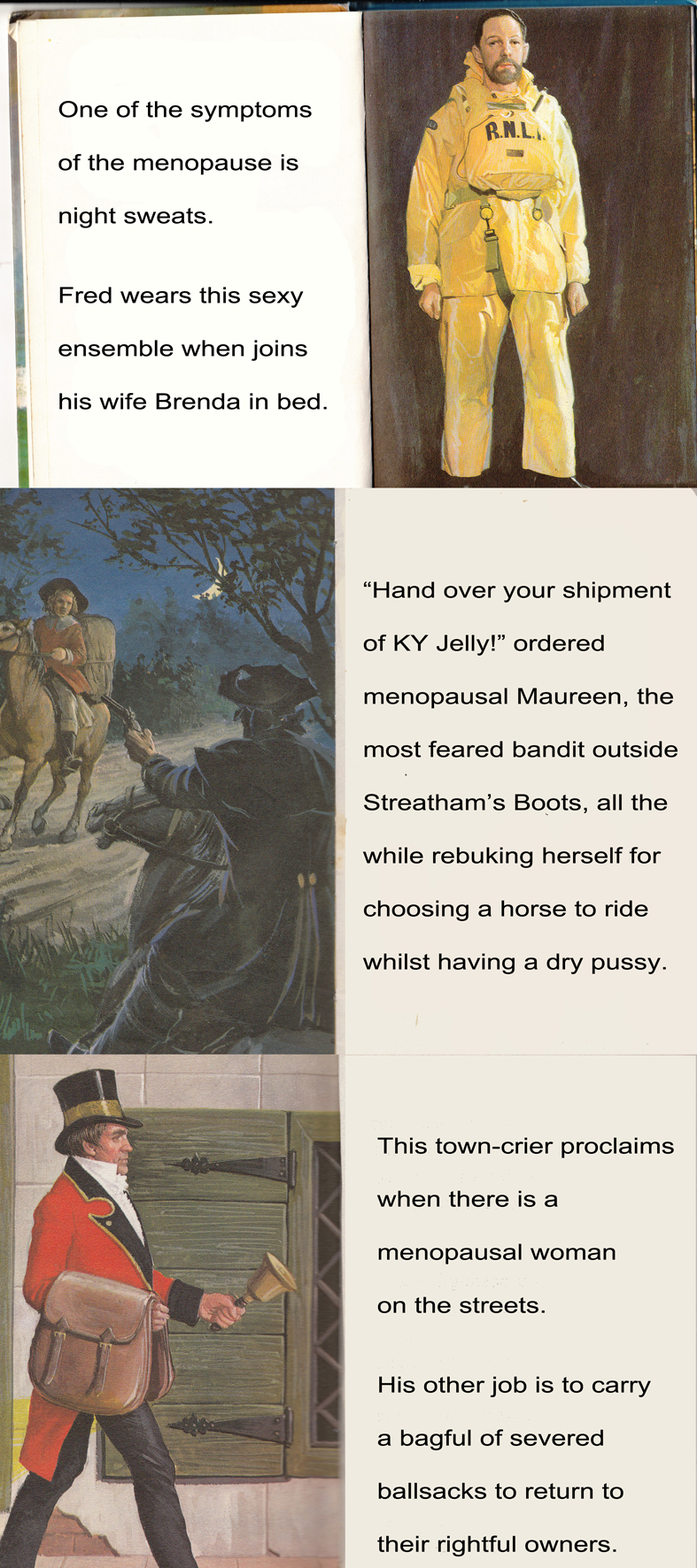 Ladybird Book of the Menopause part three