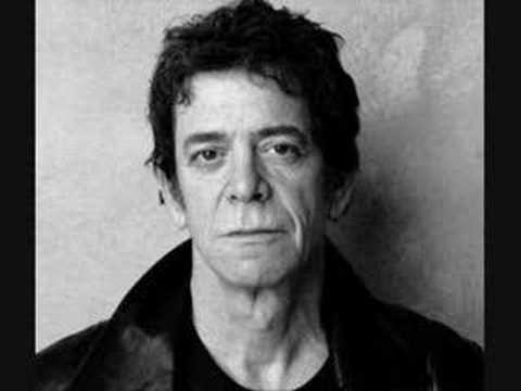 black and white portrait photo of Lou Reed in his prime