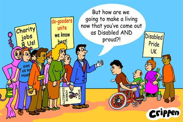Crippen's cartoon about disability pride