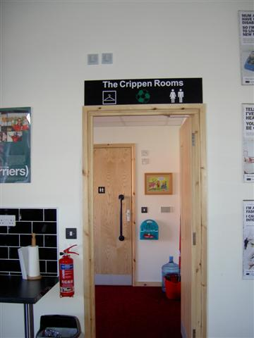 A photograph of Disability Cornwall's Crippen Rooms