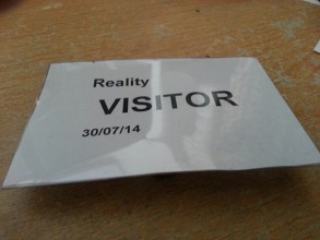 Visit to Reality