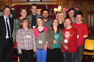 Blue Apple Theatre take their production Living Without Fear to the Houses of Parliament