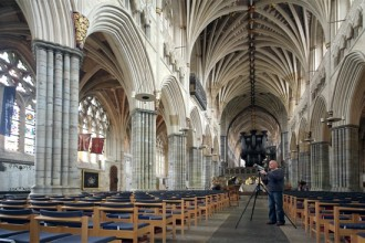 Multimedia art project to be staged at Exeter Cathedral