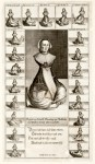 17th century print of a disabled woman