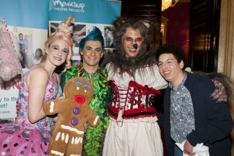 photo of actors from Shrek the Musical