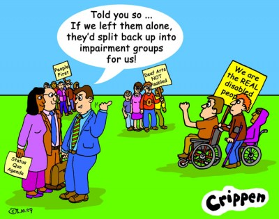 Crippen looks at the changes in Disability Art