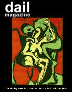 dail cover featuring 2 naked figures by Nancy Willis