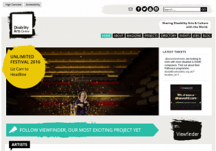 Disability Arts Online set to relaunch with new website