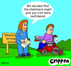 Crippen stabilisers cartoon