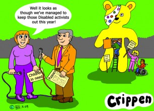 Crippen's cartoon about Children in Need