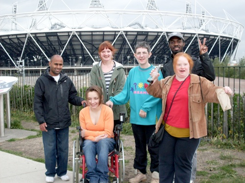 photo of Heart n Soul Media Team at Olympic Village